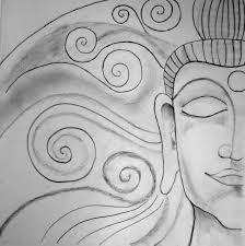 buddha a pencil sketch life beyond boredom