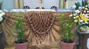 church altar decorations feast st anthony church altar decor 4
