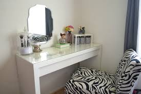 Vanity For Bedroom Makeup Table Walmart Single Mirror On White Room Interior Three
