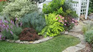 dry stack stone wall edging garden design edging pinterest