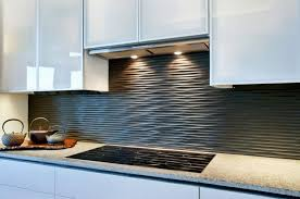 black backsplash kitchen l shape brown cabinet decor idea contemporary kitchen backsplash