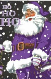 Okay Merry This Is So Wrong Santa Being Purple But It S Purple Not Pink So I