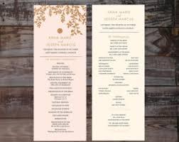 affordable wedding programs affordable wedding programs ceremony order cheap wedding
