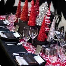 red and silver christmas table settings red and silver christmas table decorations my web value