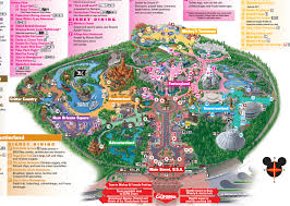 map of california adventure 8 differences between disneyland and disney s california adventure