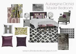 Bedroom Design Boards Cultivate Create Aubergine Orchid Digital Design Board