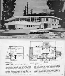 tri level house plans 1970s homes and plans of the 1940 s 50 s 60 s and 70 s flickr