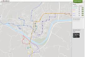 Sidney Ohio Map by Real Time Bus Tracker U2013www Athenstransit Org Athens Ohio Public
