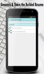 Best Resume Builder App Resume Builder Android Apps On Google Play