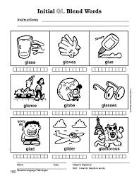 blend worksheet worksheets blends kindergarten f koogra