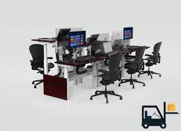 Cubicle Standing Desk Sit Stand Desks By Cubicles Com