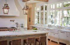 rustic stone kitchen elegant black granite countertop on cabinets