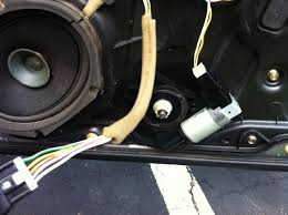 my 2005 mazda 3 front passenger window motor receives signal to go