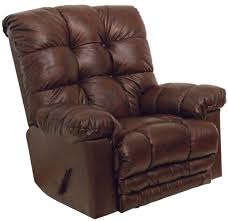 Recliner Massage Chairs Leather Catnapper 4459 Cloud 10 Leather Recliner Recliners Lift And