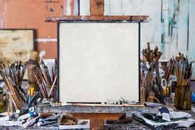 Hanging Canvas Art Without Frame Is Rolling Up A Canvas Painting Safe