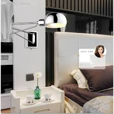 Modern Wall Lights For Bedroom The Swing Arm Wall Ls For Bedroom Regarding Household