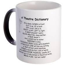 awesome coffee mugs cafepress a theatre dictionary unique coffee mug 11oz coffee