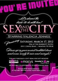sex and the city bridal shower invitations kawaiitheo com sex and the city bridal shower invitations is best idea which can be applied for bridal invitation 15