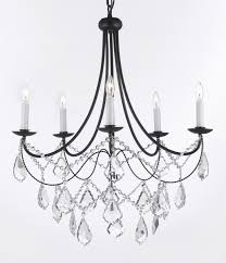Outdoor Wrought Iron Chandelier by A7 B12 403 5sw Gallery Wrought With Crystal Wrought Iron