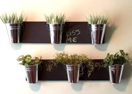 indoor wall planter horizontal mount wall hanging plant home