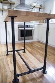 butcher block kitchen island ideas http jenloveskev com 2016 07 26 diy butcher block kitchen island
