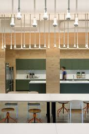 office kitchen break bar industrial lighting interior design ideas