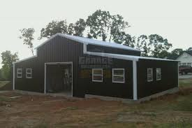 How To Build A Lean To On A Pole Barn Garage Buildings 695 Carports Garages Custom Metal Buildings