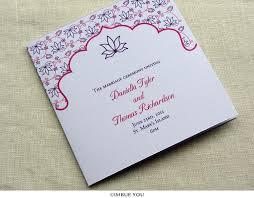 indian wedding programs indian wedding program lotus floral hindu wedding imbue you