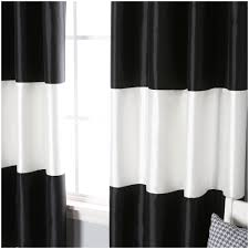 Black And White Stripe Curtains Home Design Black And White Stripe Curtains 18799 Tar Sheer