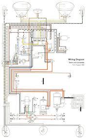 1961 beetle wiring diagram thegoldenbug com