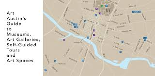 Map Austin by Art Austin Austin Art Events And Gallery Guide