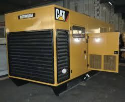 caterpillar 3412 50hz 580kw diesel generator set wpp item 3873