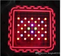 most efficient grow light new cob 400w led grow light cob 7 band 4 x32x3w grow chip with