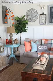 chic on a shoestring decorating fall farmhouse decor to last all