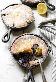 blueberry lemon pudding cake seasons and suppers
