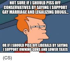 Not Sure Memes - not sure ifi should piss off conservatives by saying isupport gay
