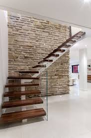 a modern renovation near montreal modern stairs balusters and