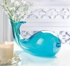 vase home decor amazon com koehler home decor art glass whale vase home u0026 kitchen