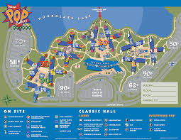 Disney Art Of Animation Floor Plan by Disney U0027s Pop Century Resort Map Wdwinfo Com