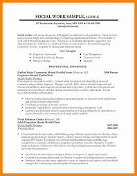 Example Social Work Resume by 7 Social Work Resume Examples 2017 Cover Title Page