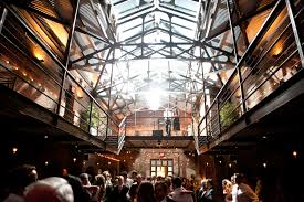 affordable wedding venues nyc the foundry island city makerspace wedding
