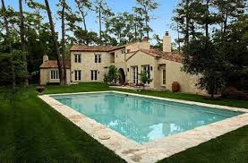 awesome french farmhouse style with pool with a cool atmosphere