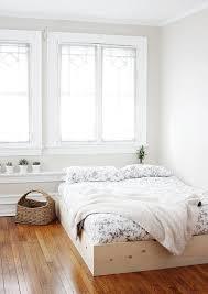 awesome platform bed frame bedroom furniture haiku designs for