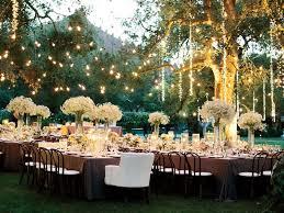 outdoor wedding lighting wedding reception lighting basics