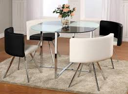 kitchen glass kitchen table with top dining table glass dining