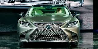 lexus lx turbo hybrid 2018 lexus ls500 revealed in detroit with powerful new twin turbo