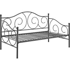 Wrought Iron Daybed Dorel Victoria Metal Daybed Twin Multiple Colors Walmart Com