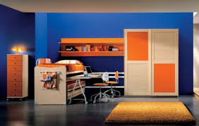 Blue And Orange Room | colour orange bedrooms interior design blogs and bedrooms
