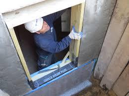 basement how to installing egress window wells for basement