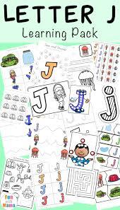 letter j activities for preschool kindergarten pack fun with mama